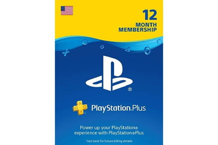 Get a year of PS Plus for  right here!