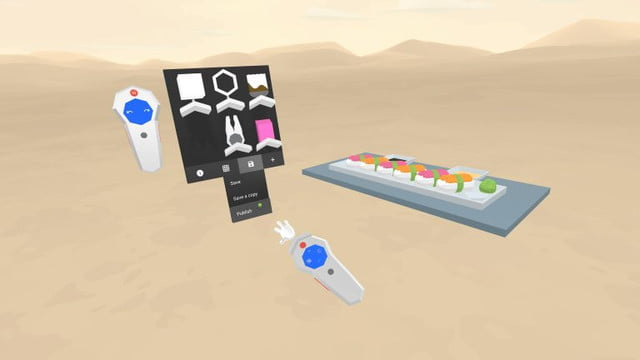 google blocks lets anyone create 3d objects in vr headsets publish 768x432