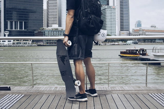 arc boards electric skateboard pure carbon 2