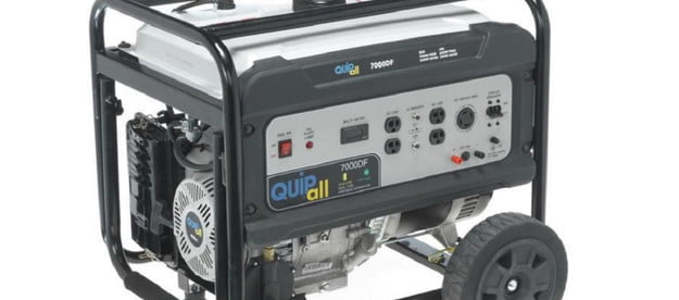 quipall 7000 dual fuel portable generator deal newegg march 2021 7000df