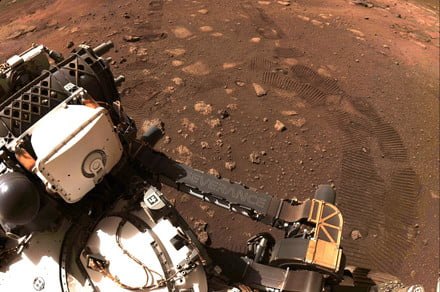 Listen to the first-ever recording of a NASA rover driving on Mars
