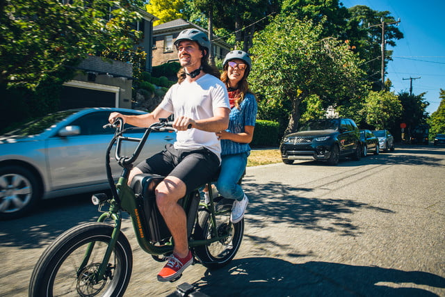 versatile radrunner electric utility bike can carry a passenger or cargo 01