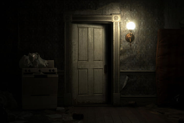 resident evil 7 data mining villain door