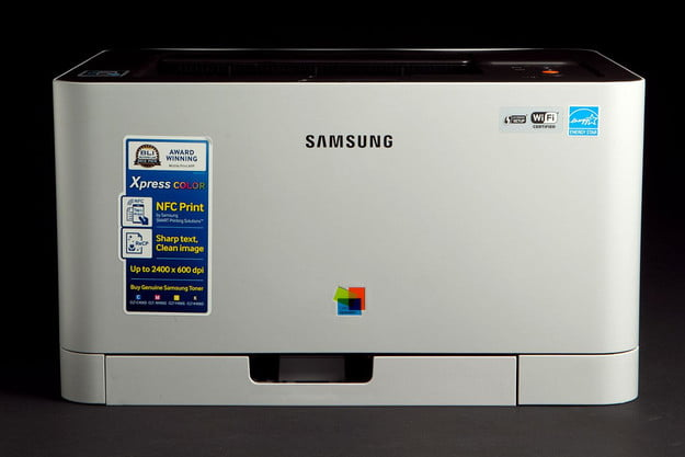 Samsung C410W Printer front closed