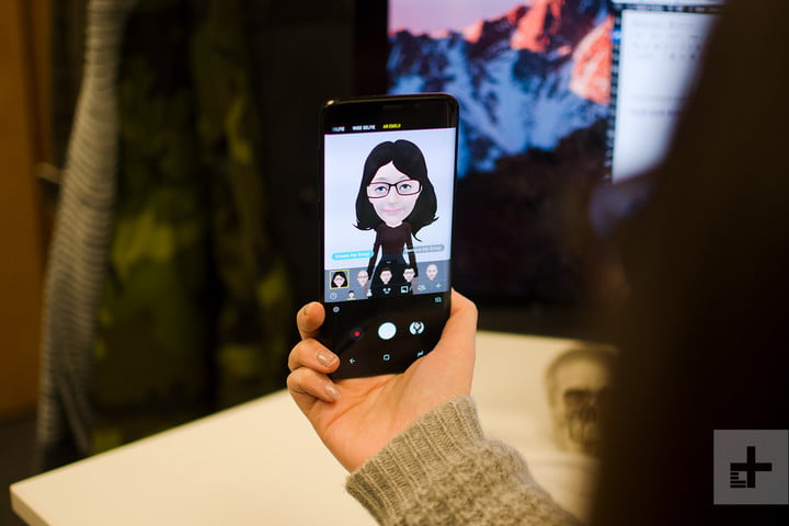 samsung galaxy s9 plus review memoji