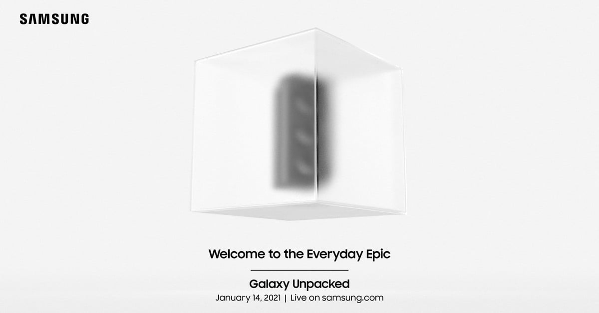 Samsung will launch the Galaxy S21 series on January 14