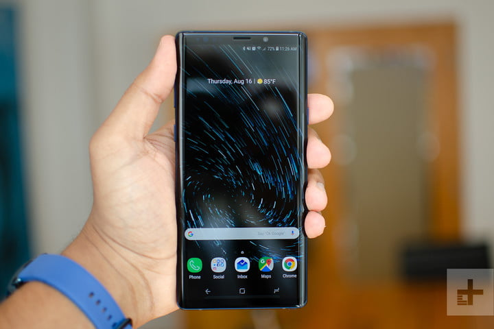 note 9 front