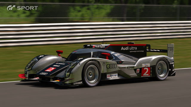 how gran turismo sport makes cars look awesome with hdr screen gts audi r18 tdi  team joest 2011 01