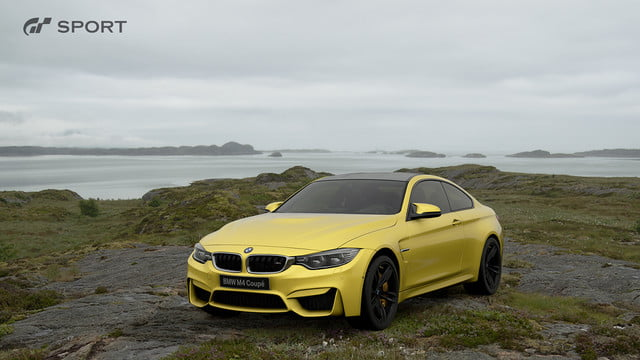 how gran turismo sport makes cars look awesome with hdr screen gts bmw m4 coupe 2014 01