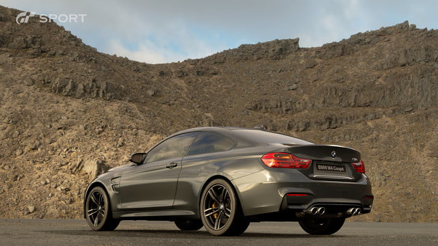 how gran turismo sport makes cars look awesome with hdr screen gts bmw m4 coupe 2014 02