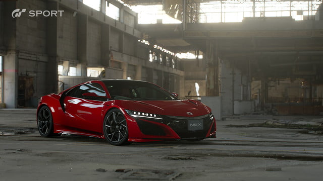 how gran turismo sport makes cars look awesome with hdr screen gts honda nsx 2017 01