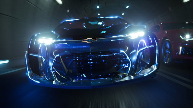 epic games unreal engine 4 powers new chevrolet car customizer shot 05 final tunnel in