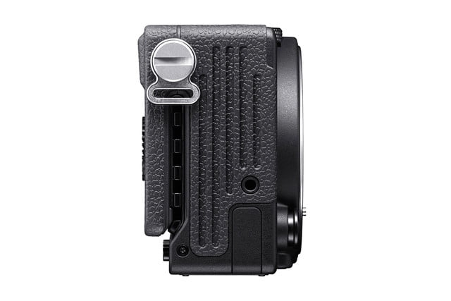 sigma fp worlds smallest full frame mirrorless camera news right side