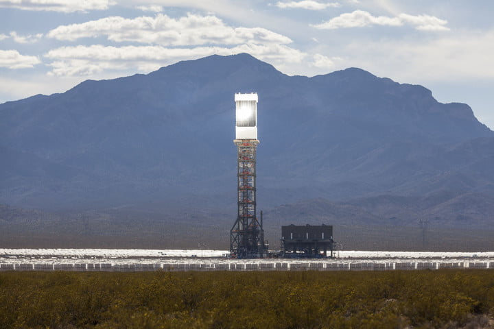 ge co2 solar power tower
