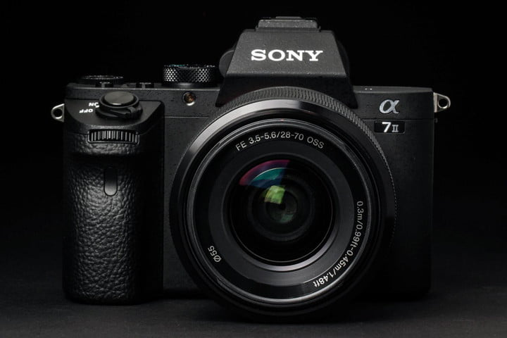 Sony Alpha A7 Mark II review front lens