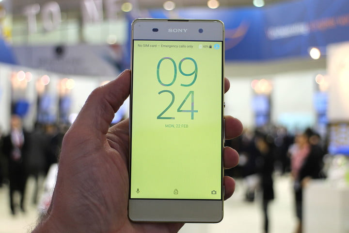 best phones tablets mwc 2016 sony xperia xa front