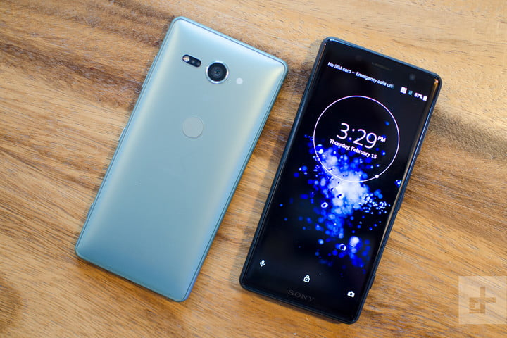 Sony Xperia XZ2 and XZ2 Compact hands on review
