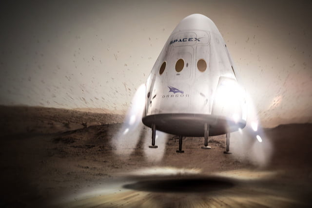spacex announces mars mission for 2018 red dragon 005