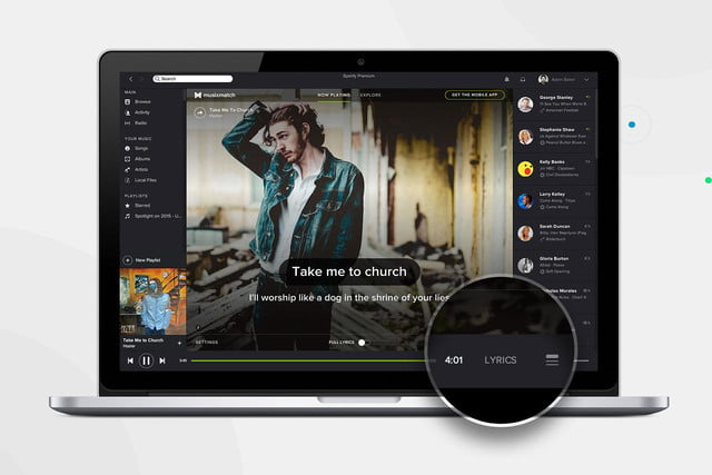 spotify adds lyrics to desktop app so you can annoy the hell out of everyone nearby hozier edit press image