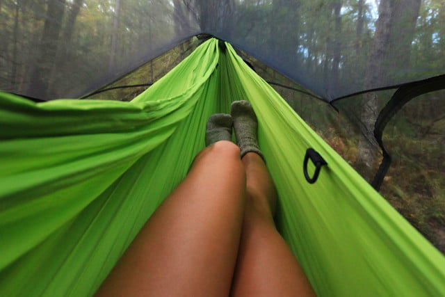 nube stratos modular hammock tent stratoshield complete insect protection with a view