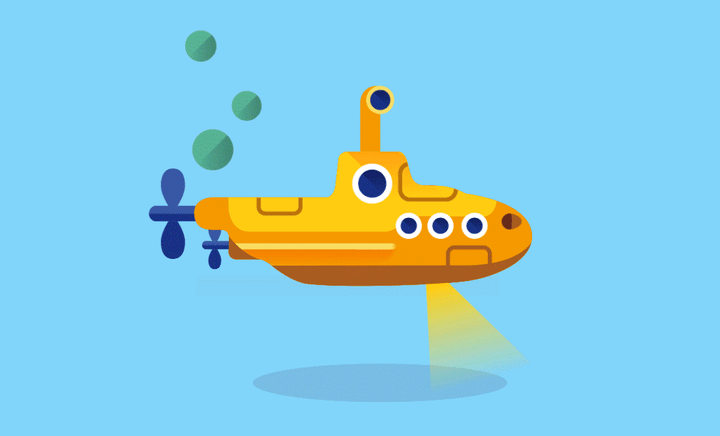 google maps icons submarine