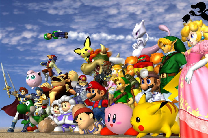 super smash bros melee