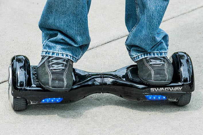 swagway hoverboard safety
