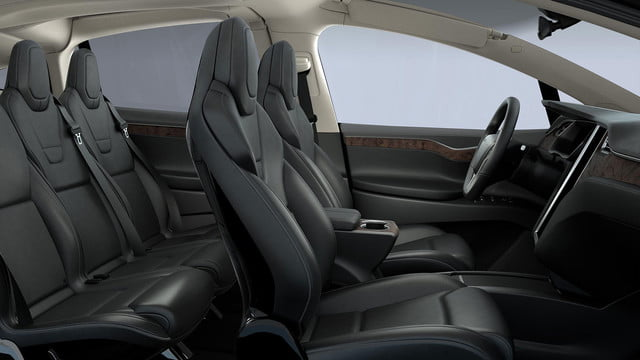 tesla top model s competitors x section interior primary black