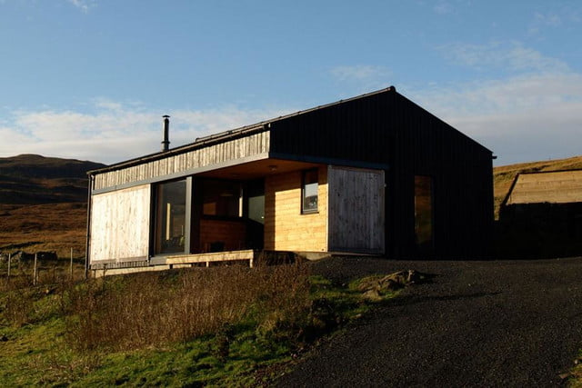 retreat from society and relax in these idyllic cabins around the world black shed 5