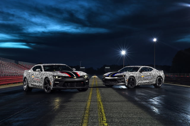 Chevrolet Camaro SS Drag Race Development Program