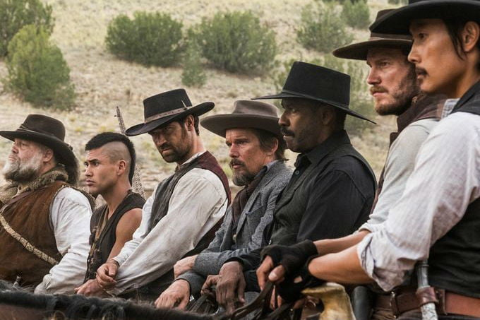 the magnificent seven poster 2016