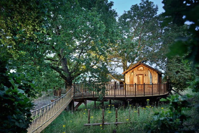 retreat from society and relax in these idyllic cabins around the world nook treehouse 11