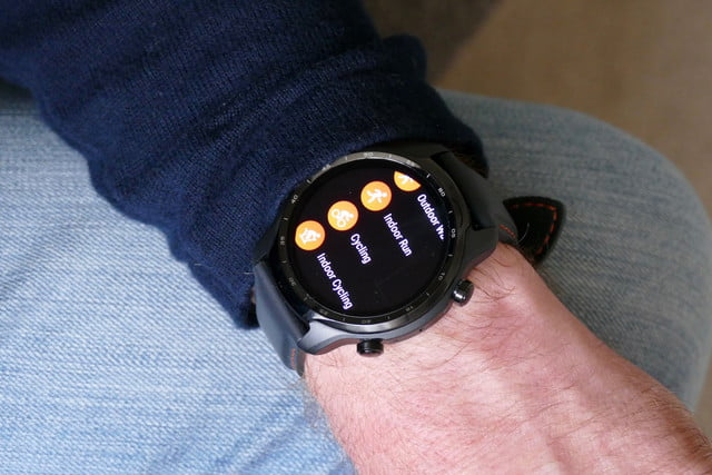 mobvoi ticwatch 3 pro review workouts
