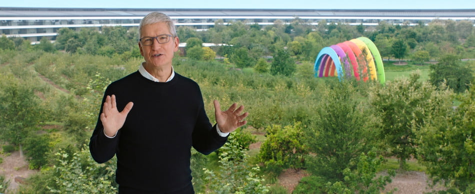 Apple CEO Tim Cook at Apple Park