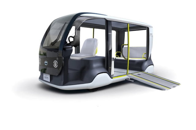 toyota builds electric golf cart like apm for 2020 tokyo olympics 1