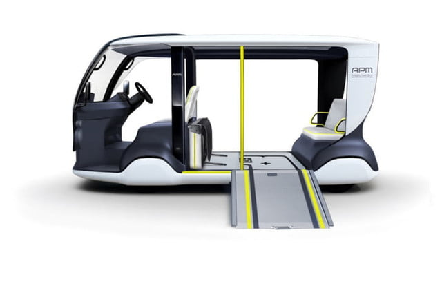 toyota builds electric golf cart like apm for 2020 tokyo olympics 2