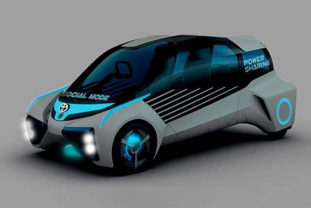 toyotas fcv plus concept comes to visit from a hydrogen future toyota concep7