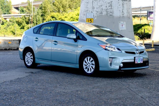 dont diss the prius ultimate hybrid car is set for an update and 55mpg toyota plugin exterior right side angle 2