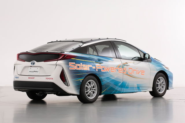toyota has covered a prius in solar cells to add 27 miles its range 5