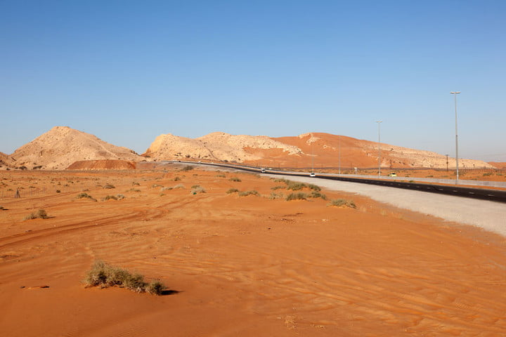 UAE desert could be home to artificial mountain that increases regional rainfall