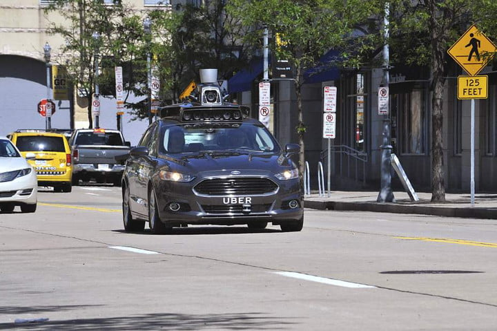 uber mapping investment autonomous car