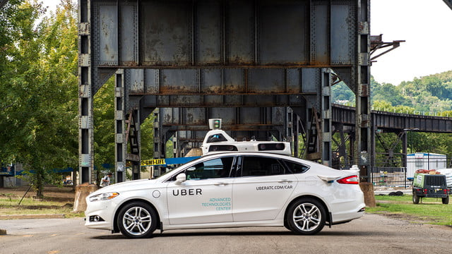 uber pittsburgh robo taxi experiment self driving exterior 05