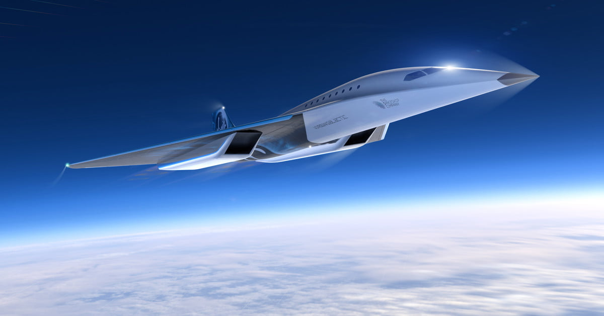 Virgin Galactic wants to reach Mach 3 with its new commercial aircraft design