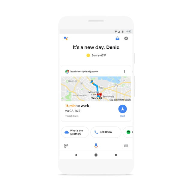 Google Assistant Visual Snapshot