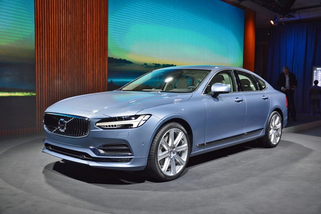 Volvo S90 front angle