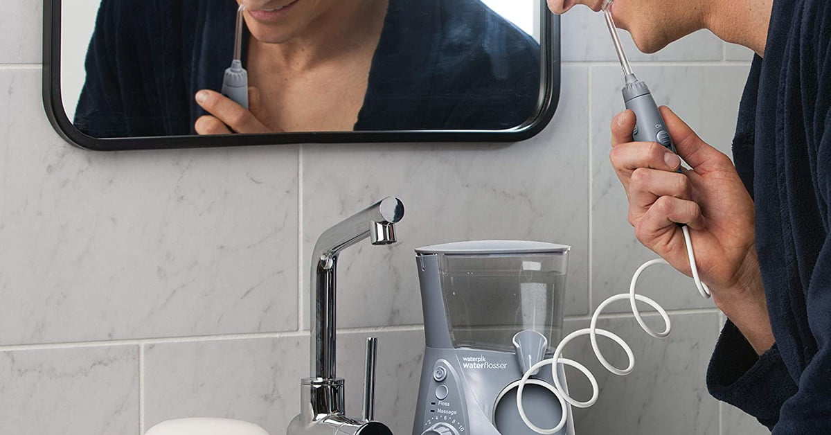 This Waterpik water flosser is only $40 at Amazon for Cyber Monday
