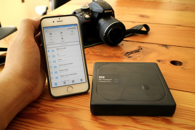 wd my passport wireless pro 8