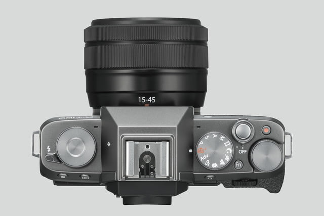 fujifilm x t100 announced darksilver top xc15 45mm