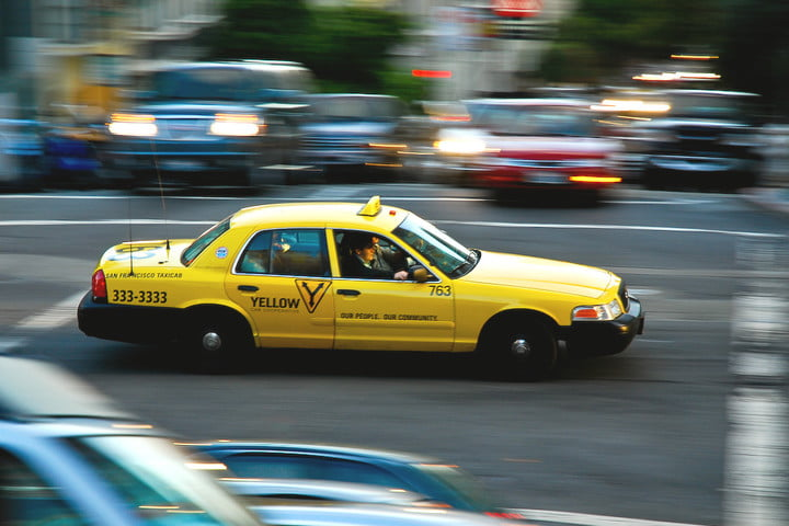 yellow cab san francisco taxi