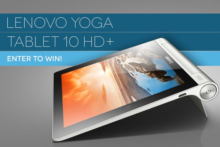 yoga tablet 10 hd plus contest